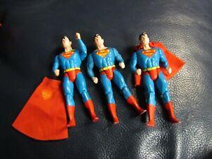 Kenner 1984 Superman Set of 3 Figures