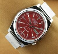 VINTAGE SEIKO 5 6309A MENS AUTOMATIC JAPAN WORKING WRIST WATCH 37.5MM