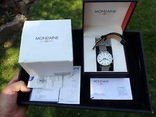 Mondaine Official Swiss Railways Evo Big Quartz Men's Watch A690.30304.11SBB VGC