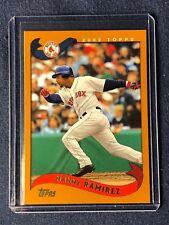 2002 Topps MANNY RAMIREZ  #125 MINT/NRMNT - BOSTON RED SOX - In hard toploader