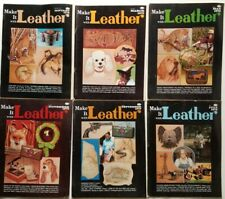 Make it Leather vintage Magazines 6 issues 1979 complete pullouts patterns Dogs