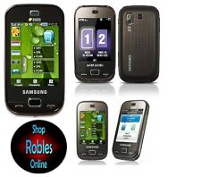 Samsung b5722 DUALSIM MARRONE (SimLock libero) 3,2mp Touch 4 BAND RADIO bene OVP