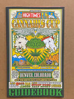 2015 Denver High Times Cannabis Cup 70 Page Guidebook Program New Free Shipping