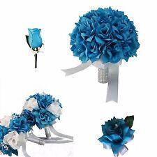 Usa Seller - 9pc Set Turquoise & White Wedding Package