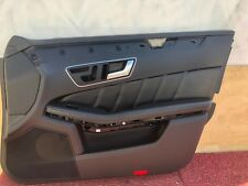 31K MERCEDES W212 AMG S E63 FRONT RIGHT INTERIOR DOOR PANEL NAPA LEATHER OEM