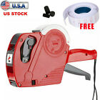MX-5500 8 Digits EOS Price Tag Gun Labeler Labeller with sticker labels + Ink