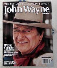 JOHN WAYNE Official COLLECTORs EDITION Volume 14 MAKING A LEGEND Duke's Family