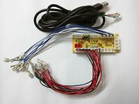 New Zero Delay Arcade USB Encoder PC to joystick for MAME & Fight Stick Controls