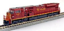 Kato N Scale SD90/43MAC Locomotive Rio Grande SLRG #115 DC DCC Ready 1765620