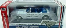 1964 1/2 FORD MUSTANG CONVERTIBLE PACE CAR AUTO WORLD 1:18 SCALE DIECAST MODEL