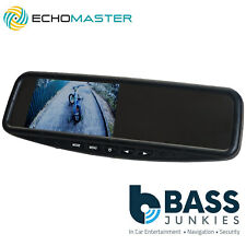 "Echomaster MM-43-CL - Car Rear View LCD Reversing Mirror & 4.3"" Screen Monitor"