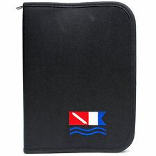 Innovative 3-ring Log Book - Black with Diver Down Alpha Flag Design