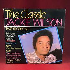 The Classic Jackie Wilson 1983 UK double Vinyl LP EXCELLENT CONDITION best of