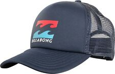 BILLABONG MENS TRUCKER CAP.PODIUM NAVY CURVED PEAK SNAPBACK BASEBALL HAT 8W 1 12