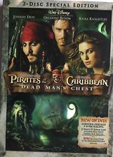 Pirates of the Caribbean Dead Man's Chest DVD 2006 2-Disc Set Widescreen NEW