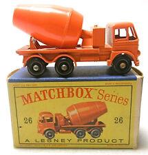 Vintage Matchbox Lesney Cement Lorry #26 Diecast Truck
