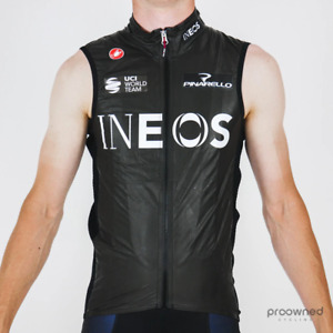 Castelli Idro Pro Rain Vest - Team Ineos