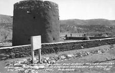 RPPC EL TORREON Lincoln County War Lookout, Lincoln, NM c1940s Vintage Postcard