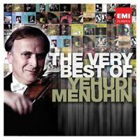 VERY BEST OF YEHUDI MENUHIN 2 CD KLASSIK NEU BACH/BEETHOVEN/MOZART/BRAHMS/+