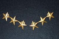 Vintage US Military Academy / Police Department Lieutenant General Stars PAIR