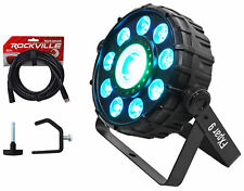 Chauvet DJ FX Par 9 DMX Multi-Effect LED/SMD RGB+UV Par Strobe Light+Cable+Clamp