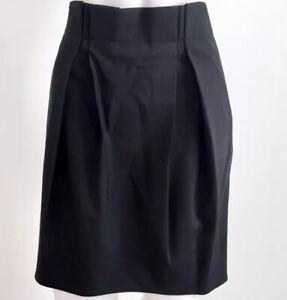 Proenza Schouler 2 Black Wool Pencil Skirt