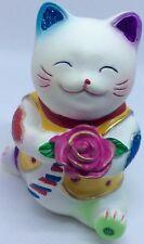Maneki neko Rose d'Amour