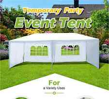Gazebo Pergola Party & Function Tent with 6 Walls - 3m x 6m x 2.6m- White