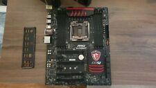 MSI X99S GAMING 7 Intel X99 So.2011-3 Quad Channel DDR4 ATX High End Mainboard