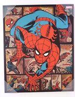 "Marvel Comics Ultimate Spider-Man Canvas Print Wall Art Home Decor 20"" x 16"" NEW"