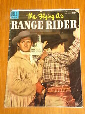 FLYING A'S RANGE RIDER #10 VG- (3.5) DELL COMIC JUNE AUGUST 1955 WESTERN*