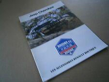 Catalogue auto  pub prospectus brochure: Accessoires Renault Cherokee chief