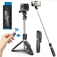 Adjustable Remote Selfie Stick Tripod Desktop Desk Stand Holder For Cell Phone