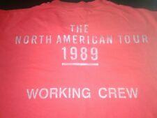 Rolling Stones Crew shirt Steel Wheels 1989