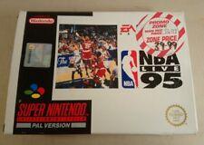NBA Live 95 para el Super Nintendo En Caja Y Completo PAL Reino Unido SNES