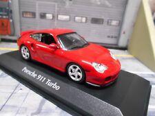 Porsche 911 996 Turbo Coupe 1999 red rojo maxichamps Minichamps 1:43