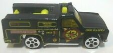 Hot Wheels Rescue Ranger Black Loose Car Malaysia Base