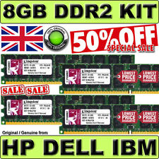 8GB KIT 2Rx4 PC2-3200R-333-10-J1 SERVER MEMORY DDR2 | SAMSUNG | ELPIDA JAPAN