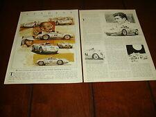 1959 PORSCHE SPYDER   ***ORIGINAL 1982 ARTICLE***