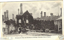 Regno Uni - Ingresso a Vite and Di giardiniere cottage, HAMPTON Court Palace