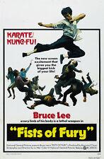 Fist Of Fury - Jing wu men (1972) Bruce Lee cult movie poster print 9