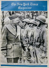 PARATROOPER SKY INVASION RED CROSS JACOBOWSKY 3-1944 WWII March 5 CARLU MARQUIS
