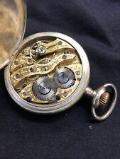 Taschenuhr Silber Antik Steyrische Uhr Open Face Lepine Herrenuhr
