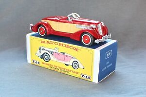 Matchbox Yesteryear Y19-1 Auburn Speedster (1936) - Code 3 (D97)