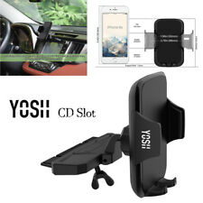 YOSH Support Telephone Voiture CD Slot Pour iPhone X Xs Xr Xmax 8 7 Plus Samsung