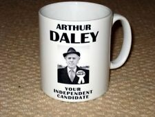 Arthur Daley Minder Political Campaign Vote for Daley Poster MUG