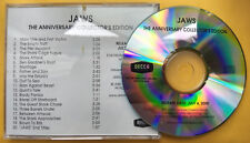 SOUNDTRACK Jaws Anniversary Collector's Edition ADVANCE PROMO CD John Williams