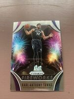 Karl-Anthony Towns 2019-20 Prizm Fireworks #21 Timberwolves