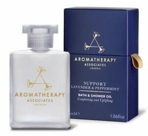 Aromatherapy Associates Support Lavender & Peppermint Bath And Shower Oil 55ml,