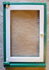 Vintage Dolls House DIY - Caroline's Home Single Plain Glazed Green Window #2